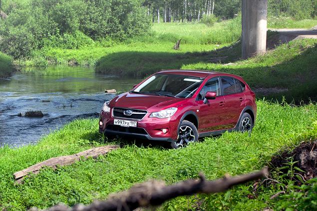 Длительный тест Subaru XV: по бездорожью. Фото 7