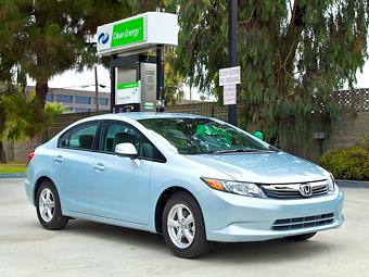 """""""Хонда"""" подарит покупателям газового Civic топлива на 3 тысячи долларов"""