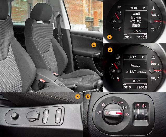 Длительный тест Seat Altea Freetrack: кроссовер, минивэн или хот-хэтч?. Фото 7