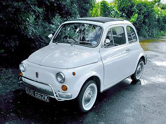 Fiat 500 британского премьера продадут на аукционе