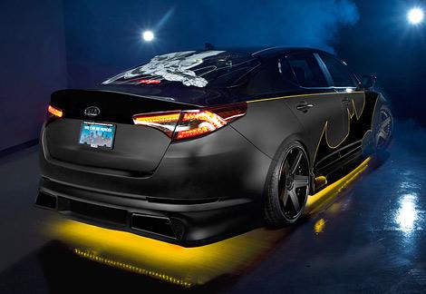 Автомобиль стал первым в посвященной супергероям спецсерии