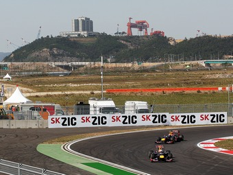 Пилоты Red Bull опередили соперников в тренировке Гран-при Южной Кореи