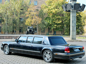 Арабский шейх заинтересовался российским президентским лимузином