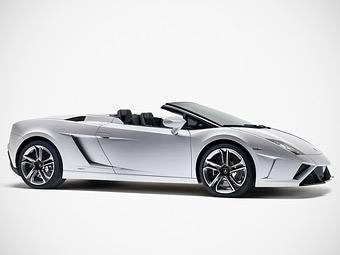 Компания Lamborghini обновила открытый Gallardo