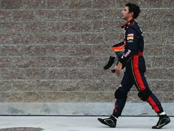 Дэниэл Риккардо потеряет пять мест на старте Гран-при Кореи