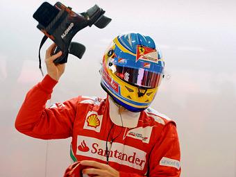 Алонсо отказался давать интервью до конца сезона-2012
