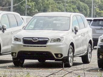 Новый Subaru Forester сфотографировали без камуфляжа