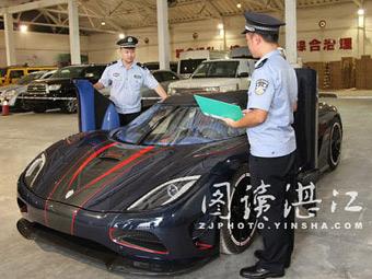 Китайские таможенники конфисковали уникальный гиперкар Koenigsegg