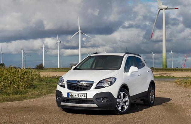 Тестируем странноватый кроссовер Opel Mokka