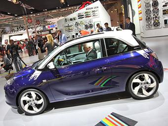 Компакт-кар Opel Adam лишится крыши