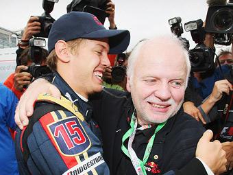 Отец Феттеля выступит в гонке с экс-пилотами Формулы-1