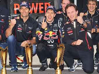 Пилотам Red Bull предоставят равные шансы в борьбе за титул