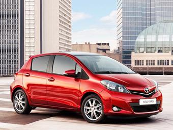 Хэтчбек Toyota Yaris вошел в число европейских бестселлеров