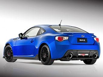 Купе Subaru BRZ получило тюнинг-набор STI