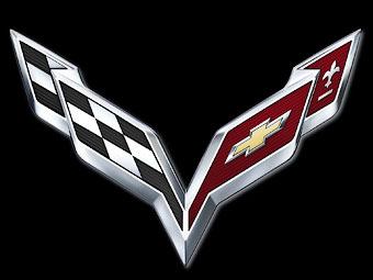 Компания Chevrolet показала логотип нового Corvette