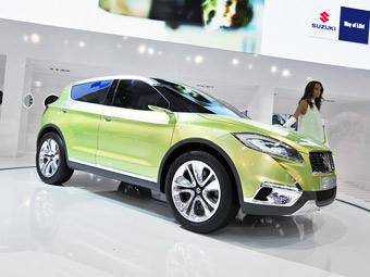 Через год в России появится новый кроссовер Suzuki
