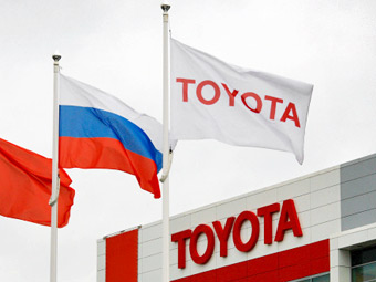 """""""Тойота"""" предложила построить под Москвой завод по утилизации машин"""