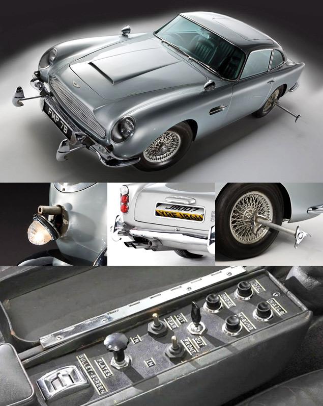 Автомобили агента 007, которые мы любим. Фото 1