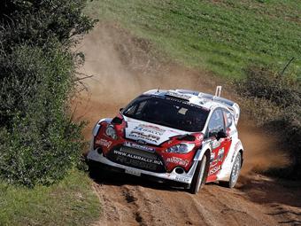 Новиков заработал второй подиум в WRC