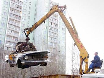 Российские дилеры будут принимать автохлам на утилизацию