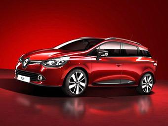 """Renault построит """"заряженный"""" универсал Clio"""