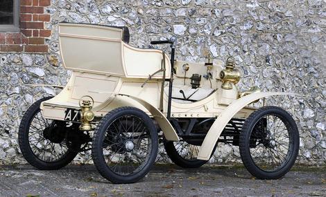 Автомобиль был построен в 1903 году для директора Vauxhall