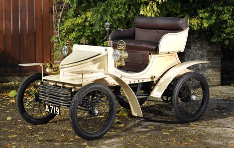Автомобиль был построен в 1903 году для директора Vauxhall. Фото 2