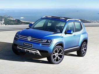 Volkswagen представил кроссовер c литровым турбомотором
