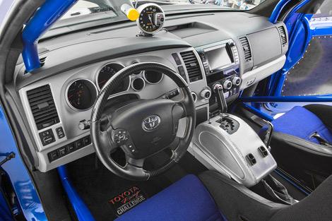 Автомобиль оснащен 650-сильным мотором с механическим нагнетателем. Фото 1