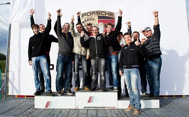 Ездим боком и меняем колеса на третьем этапе Porsche Media Academy. Фото 12