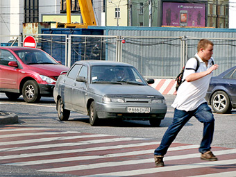 Половина пострадавших в ДТП пешеходов оказались виновниками аварий