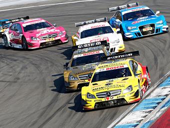 В России пройдет гонка кузовной серии DTM