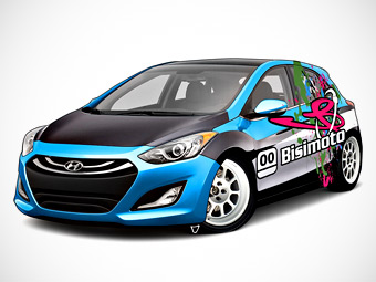 На тюнинг-шоу SEMA дебютирует 600-сильный Hyundai i30