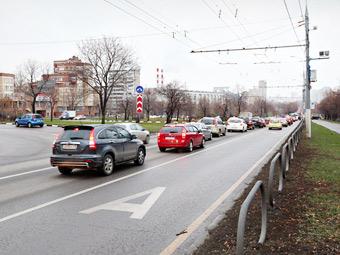 В ноябре на московских дорогах появятся 11 новых спецполос