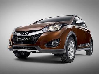 Компания Hyundai представила компактный псевдокроссовер