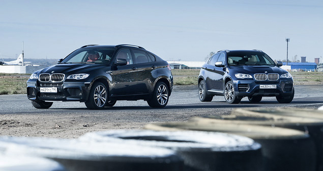 Сравниваем супервнедорожник BMW X6 M с супердизелем M50d