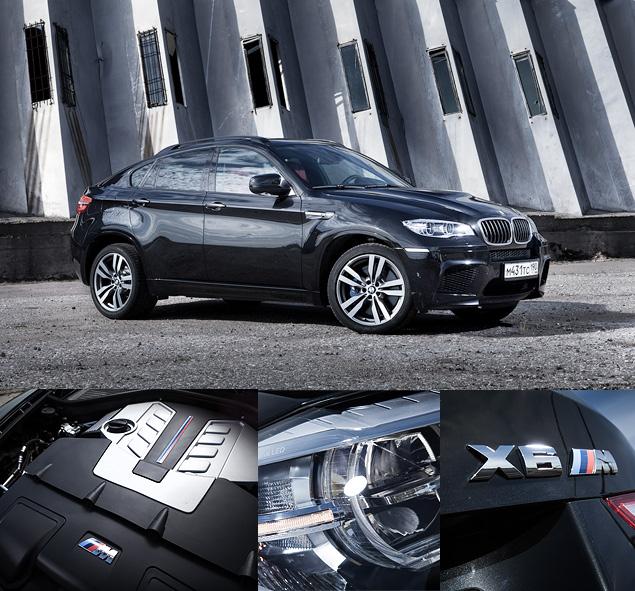 Сравниваем супервнедорожник BMW X6 M с супердизелем M50d. Фото 4