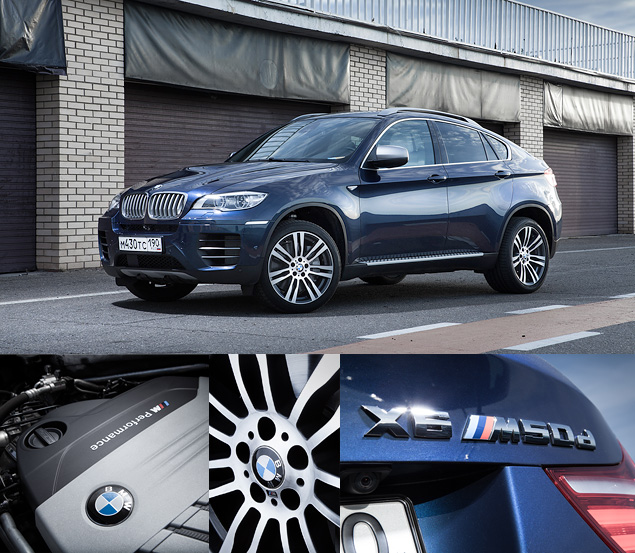 Сравниваем супервнедорожник BMW X6 M с супердизелем M50d. Фото 5
