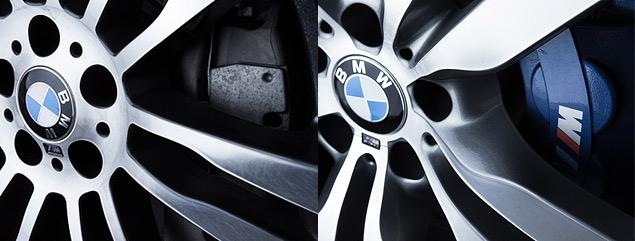 Сравниваем супервнедорожник BMW X6 M с супердизелем M50d. Фото 7