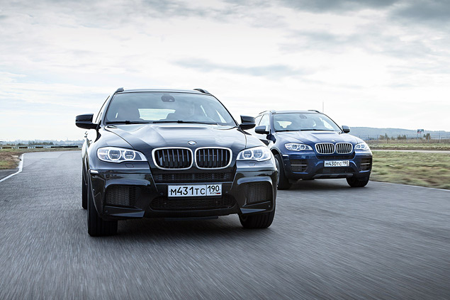 Сравниваем супервнедорожник BMW X6 M с супердизелем M50d. Фото 11