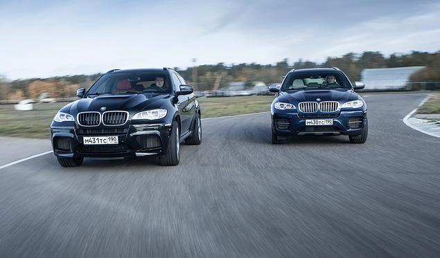Сравниваем супервнедорожник BMW X6 M с супердизелем M50d. Фото 13