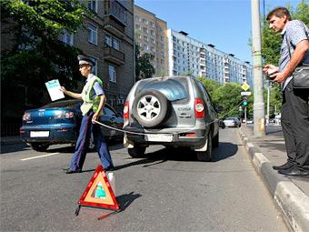 Начинающие водители оказались безопаснее опытных