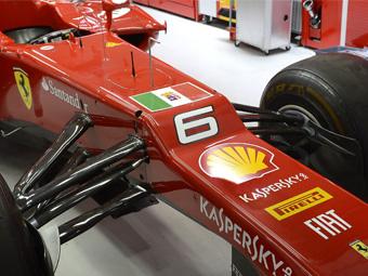 В Индии Ferrari разместит на болидах герб итальянских ВМС