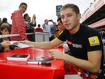 Чемпион Формулы-Renault 3.5 заключит долгосрочный контракт с Sauber
