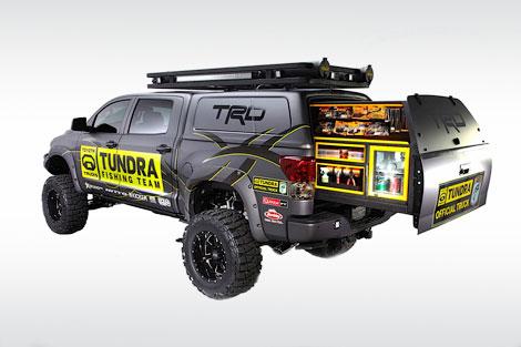На тюнинг-шоу SEMA компания покажет спецверсию модели Tundra