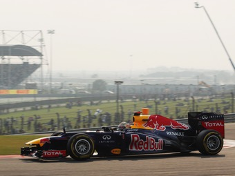 Себастьян Феттель выиграл Гран-при Индии