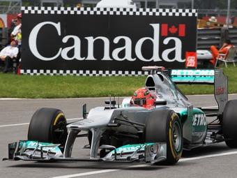 Шумахеру подарят болид Формулы-1 Mercedes AMG 2012 года