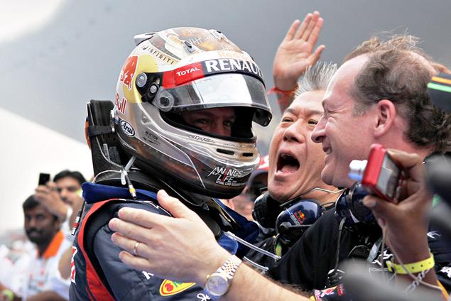 Себастьян Феттель одержал четвертую победу подряд. Фото 4