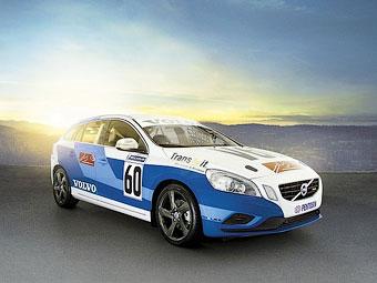 Компания Volvo превратила универсал V60 в гоночный автомобиль