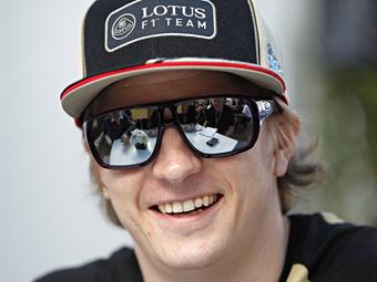Кими Райкконен останется в Lotus в 2013 году